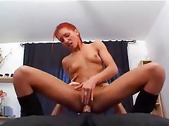 Babe Facial French Hardcore Redhead