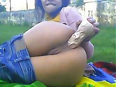 Amateur Anal Brazil Masturbation