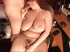 BBW Big Boobs Masturbation MILF
