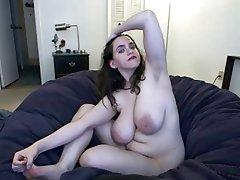 Amateur BBW Big Boobs Nipples Webcam