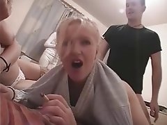 Group Sex Swinger Threesome