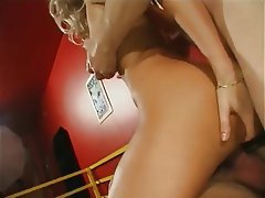 Anal Blonde Blowjob Double Penetration MILF
