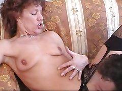Natural smaller older tits