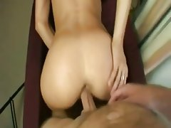 Anal Blonde Close Up Creampie Hardcore