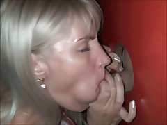 Real free gloryhole tube
