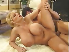 Big Boobs Blonde Facial Hardcore