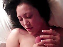 Amateur Asian Cumshot