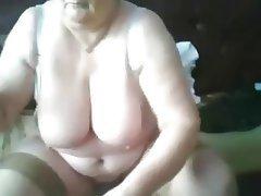 BBW Big Boobs Granny Mature Webcam