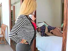 Blonde Blowjob Coed Girlfriend