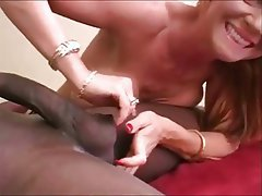 Handjob, Interracial