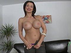 Babe Big Tits Blowjob Brunette