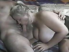 Amateur BBW Big Boobs Blowjob Cumshot