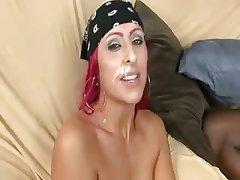 Blowjob Cumshot Hardcore Interracial Pornstar
