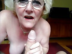 Amateur Blowjob British Granny