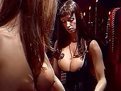 BDSM Lesbian Group Sex Big Boobs Blonde