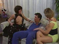 Double Penetration, German, Threesome