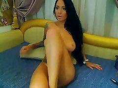Amateur Brunette Masturbation Webcam