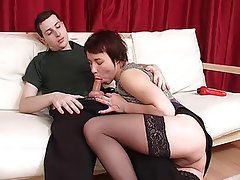 Anal MILF Old and Young Russian