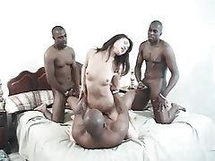 Asian, Gangbang, Hardcore, Interracial, Pornstar