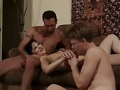 Anal Bisexual Threesome