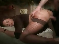 Anal Blowjob Italian Stockings Vintage