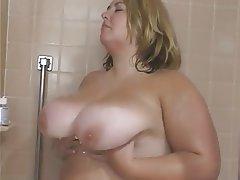 BBW Big Boobs Blonde Interracial