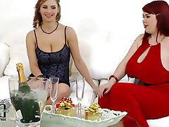 Threesome, Lesbian, MILF