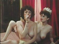 Hairy Lingerie MILF Stockings Vintage