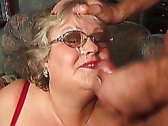 Cumshot Granny Mature