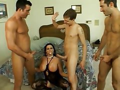 Mom pornstar guage double penetrated boobies Wow, that