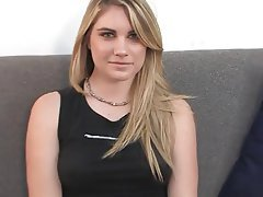 french blonde casting couch