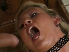 Double Penetration Facial MILF Threesome