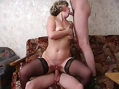 Hardcore Mature Old and Young Stockings