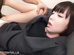 Asian MILF Panties Secretary