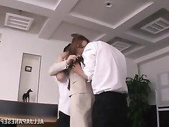 Asian Babe Blowjob Cumshot Panties
