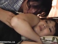 Asian Blowjob Creampie MILF