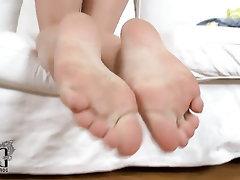 Casting Feet Fetish Massage Stockings