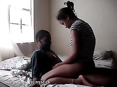 Mature ebony couple
