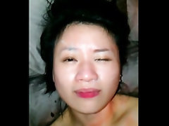 Real amateur chinese facial