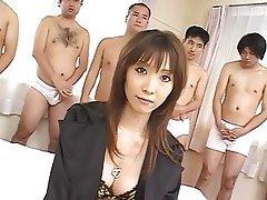 Asian, Bukkake, Cumshot, Facial