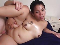 Babe, Brunette, Hardcore, Interracial