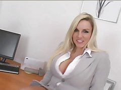 Big Boobs British Secretary Squirt