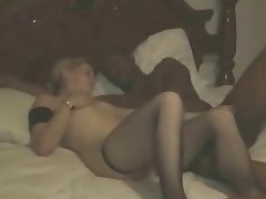 Amateur, Cuckold, Interracial, Stockings