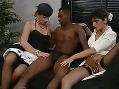 Group Sex Interracial MILF Stockings
