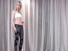 Blonde Pornstar POV Skinny