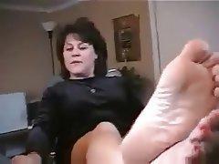 Amateur Blonde Femdom Foot Fetish Mature