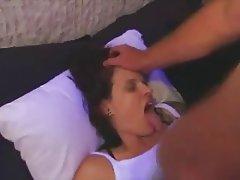 Babe Blowjob Brunette Facial Hardcore
