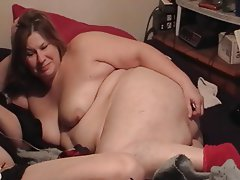 BBW Close Up Masturbation Mature