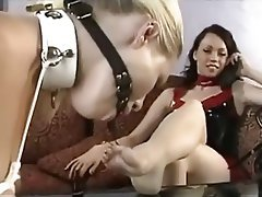 BDSM, Femdom, Foot Fetish, Latex