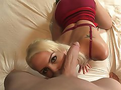 Blonde Blowjob Masturbation Teen